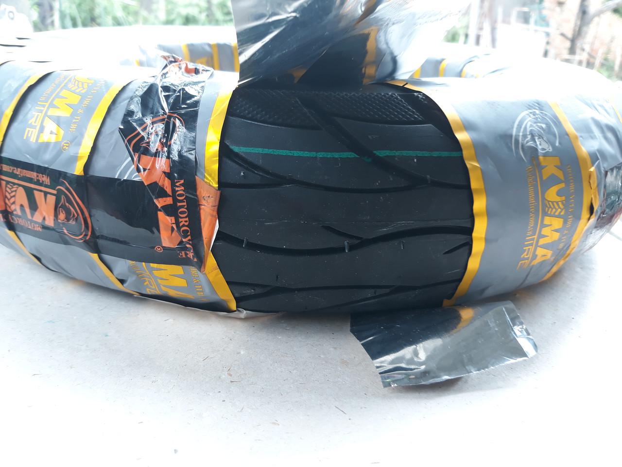 Покрышка бескамерная 3.50-10 KUMA для  GY6  150cc