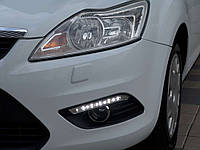 Штатные дневные ходовые огни (DRL) для Ford Focus 2008-2011
