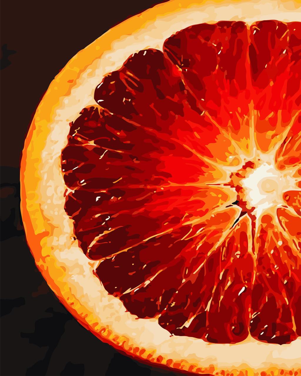 "Картина по номерам ArtStory ""Грейпфрут"", 40*50см, AS0772"