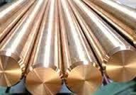 Круг бронзовый 55 БрАЖ9-4, БрОЦС-555