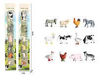 Фигурки домашних животных, 12шт/упак., KZ956-005F