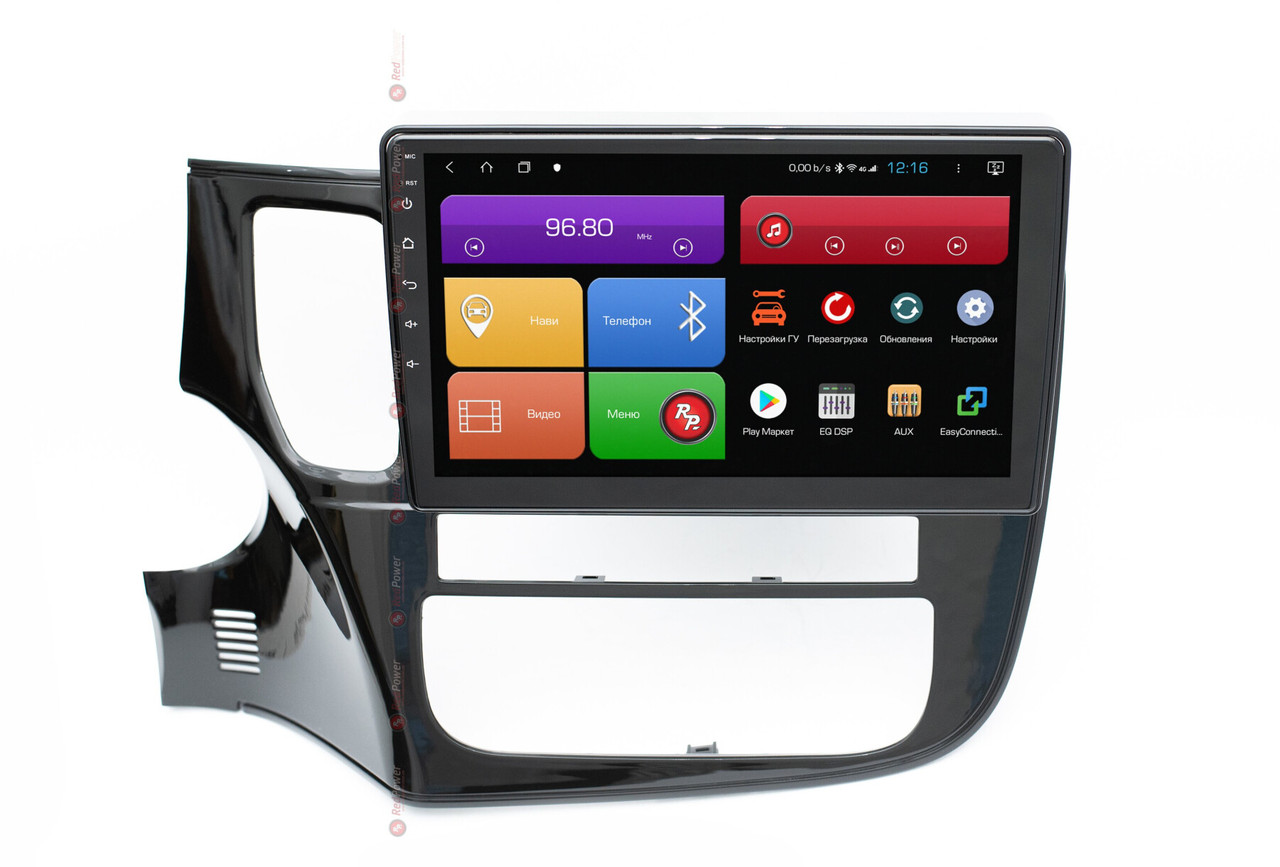 Штатная автомагнитола RedPower 51156 R IPS DSP для Mitsubishi Outlander на Android 8