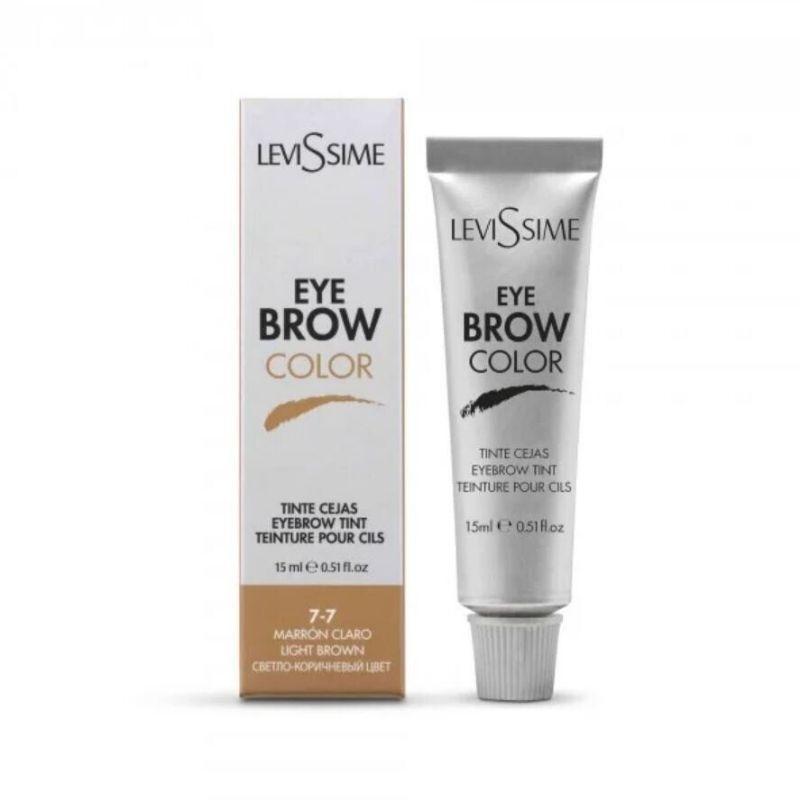 Фарба Levissime Eye Brow світло-коричнева для брів 15 мл