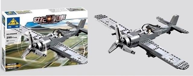 Конструктор Военый самолет 82005