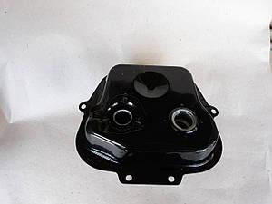 Бак топливный GRAND PRIX черный для  GY6  80cc