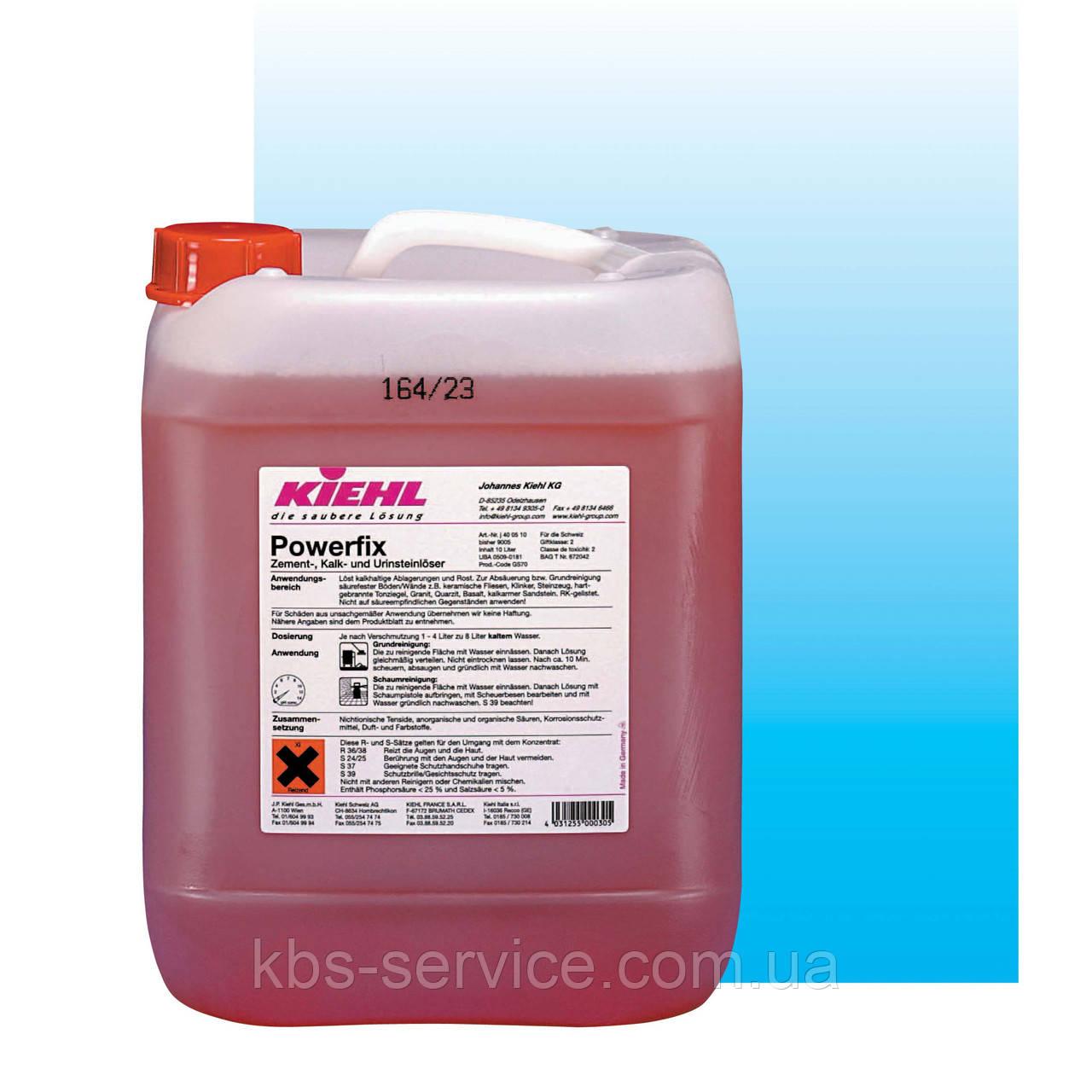 Средство для глубокой чистки (кислотное) Powerfix, 10 л,  (санузлы, послестроительные работы) Kiehl