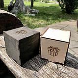 Коробочка для чашек деревянная (некрашеная), фото 3