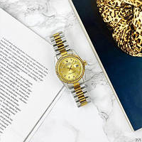 Rolex Date Just New Silver-Gold-Gold, фото 1