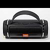 Bluetooth портативная колонка Charge mini 2+ (J016) с силиконовой ручкой чёрная, фото 2