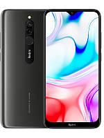 Смартфон с большим дисплеем и хорошей двойной камерой на 2 sim Xiaomi Redmi 8 4/64Gb black Global Version