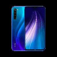 Смартфон синий с хорошим аккумулятором большой емкости Xiaomi Redmi NOTE 8 4/128Gb blue Global Version, фото 1