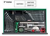 Ящик для СТО с инструментом TOPTUL (Pro-Line) 3 секции 157 ед. GCAZ0011, фото 5