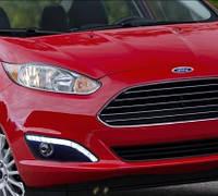 Штатные дневные ходовые огни (DRL) для Ford Fiesta 2013+T2