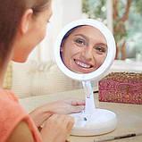 Складное зеркало для макияжа с Led подсветкой My Fold Away Mirror, фото 2