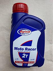 Масло для 2-хтактных двигунів мінеральне 2Т motо Racer 0.5 л Агрінол