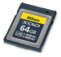 XQD карта памяти 64GB Nikon MC-XQ64G (64 Гб) для фото и видеокамер