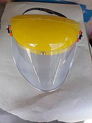 Защитный экран ( оргстекло ) для бензопиле Grunhelm GS 4000 , 4500