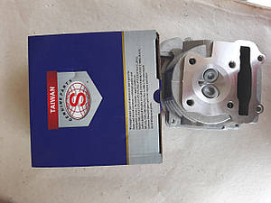 Головка цилиндра Ø 47 (голая+клапаны) для  GY6  80cc Тайвань