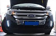 Штатные дневные ходовые огни (DRL) для Ford Edge T1
