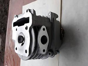 Головка цилиндра Ø 47 в сборе +крышка для  GY6  80cc
