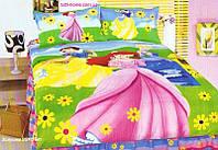 Детское постельное белье 160х210 с героями мультфильмов Уолта Диснея, Shining Star