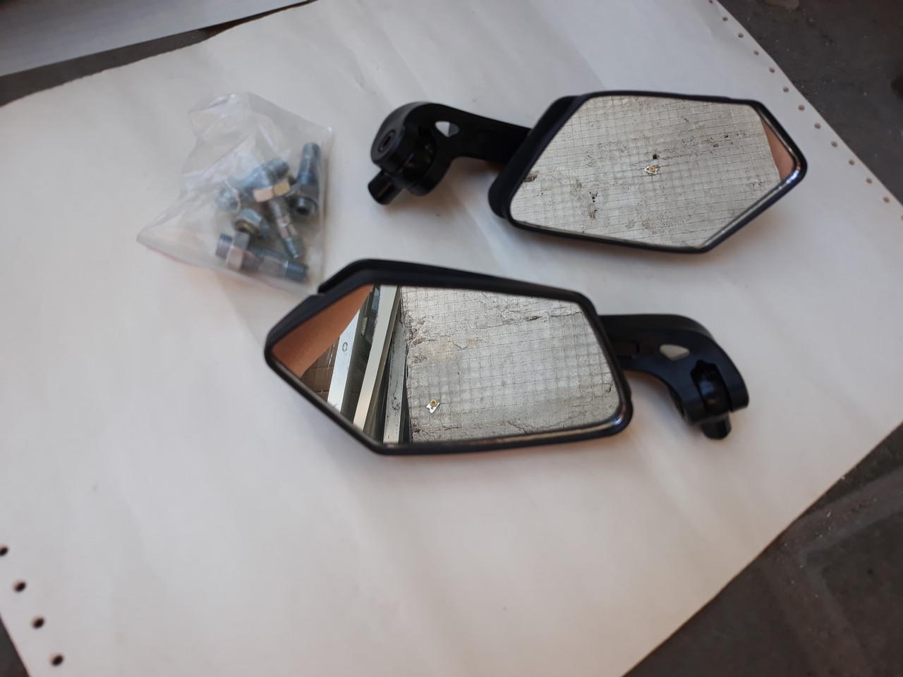 Зеркала Ø8/Ø10 многоугольные поворотные для скутера Honda Dio18