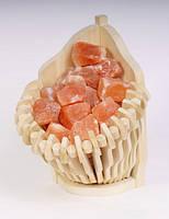 Гималайская розовая соль, корзина угловая 4,5кг