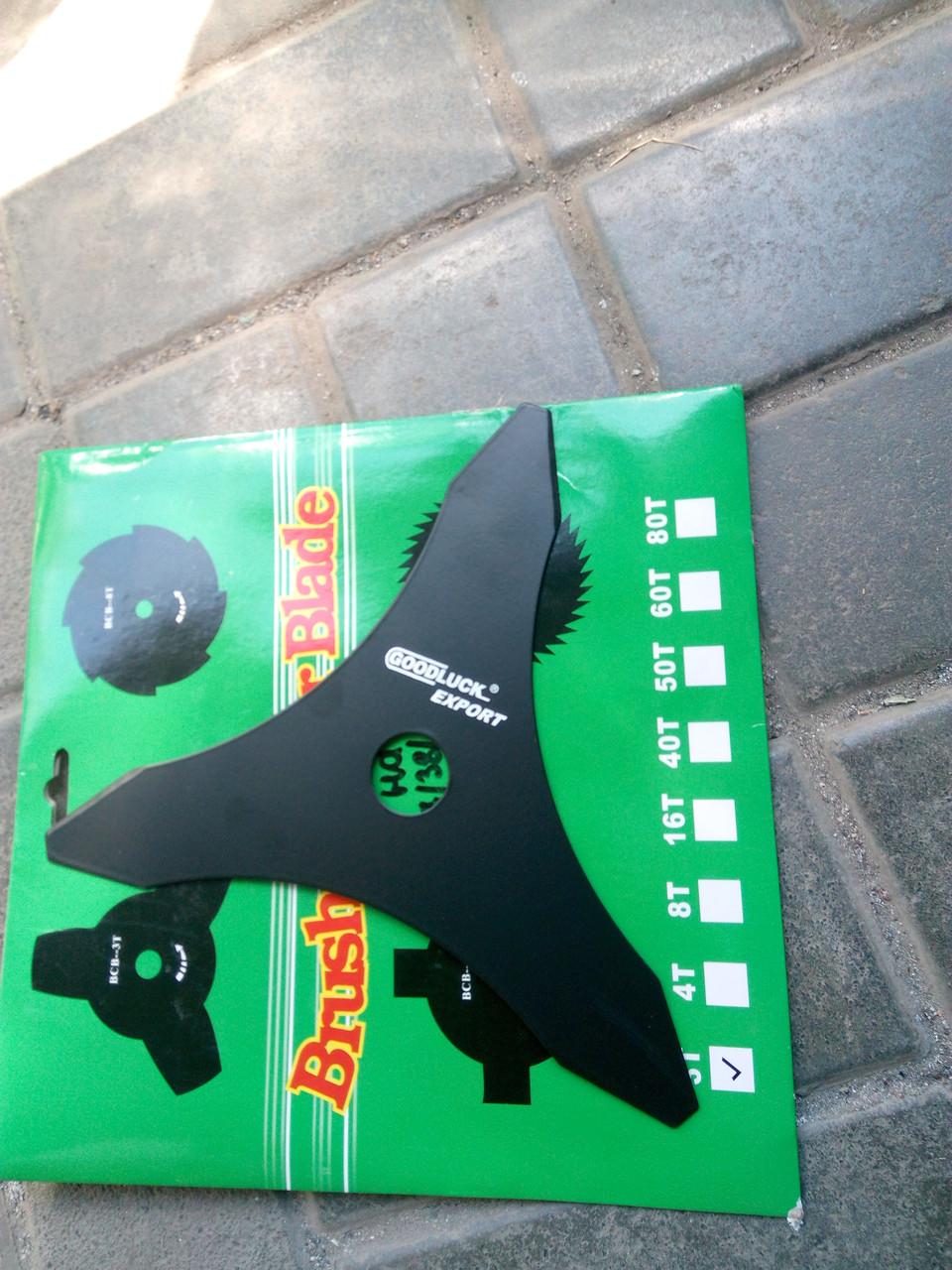 Нож 3-х лопастной для мотокос oleo-mac sparta 37/38/42/44
