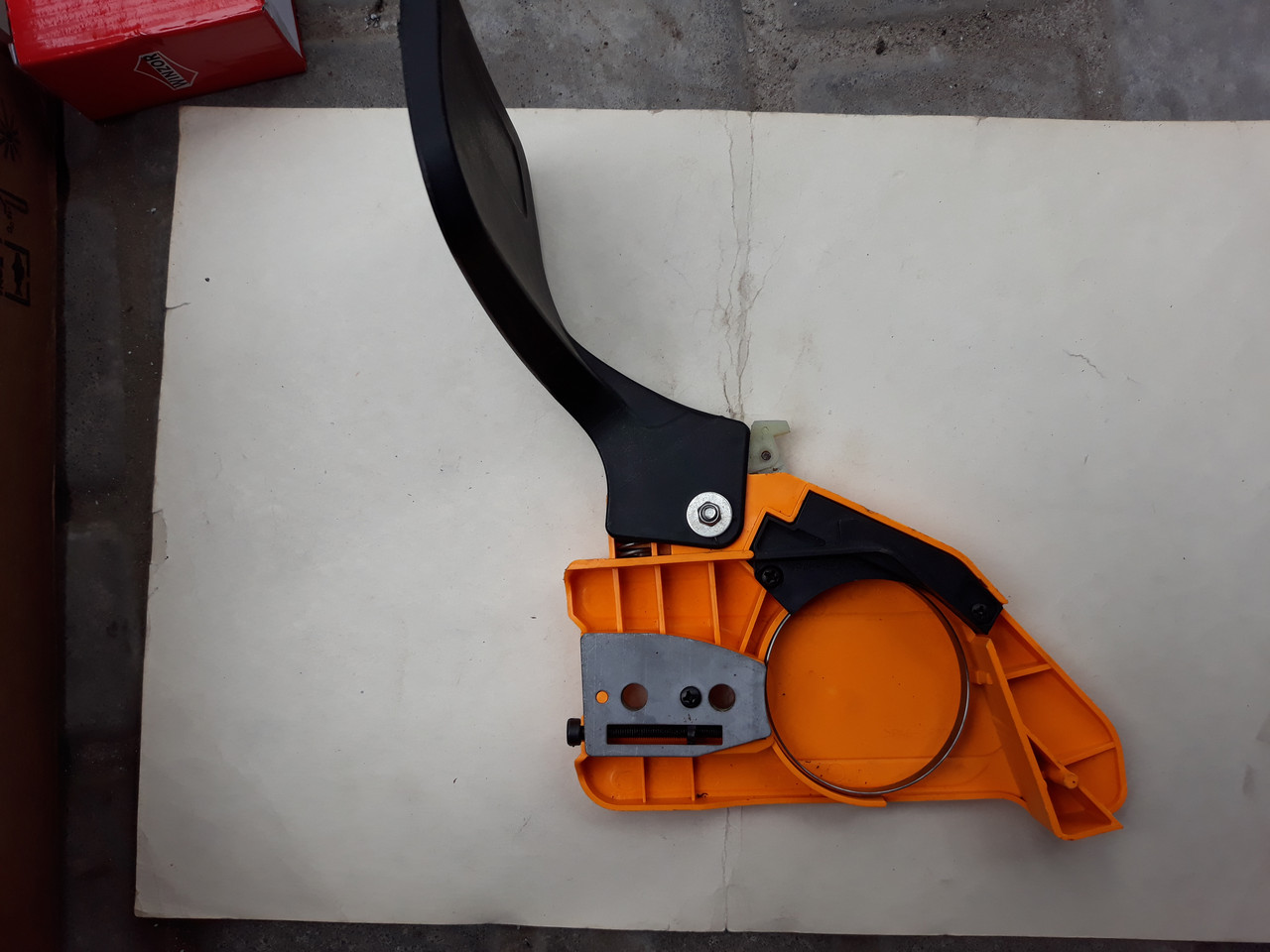 Ручка тормоза в сборе для бензопилы Al-Ko BKS 3535,4040