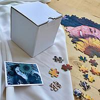 Коробочка для пазлов картонная закрытая