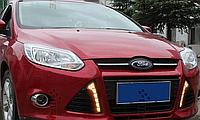 Штатные дневные ходовые огни (DRL) для Ford Focus 2011+ T6