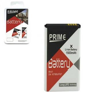 Аккумулятор Prime Nokia BN-01 X / RM980 1500mAh, фото 2