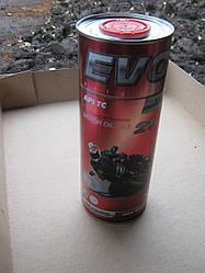 Масло полусентетическое 2 х тактное EVO MOTO RACING 2T (RED) 1L