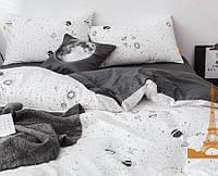 Комплект постельного белья Евро 200Х220 Сатин-лайт TL19059 Love You