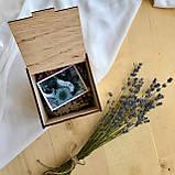 Коробочка для пазлов деревянная (некрашеная), фото 3