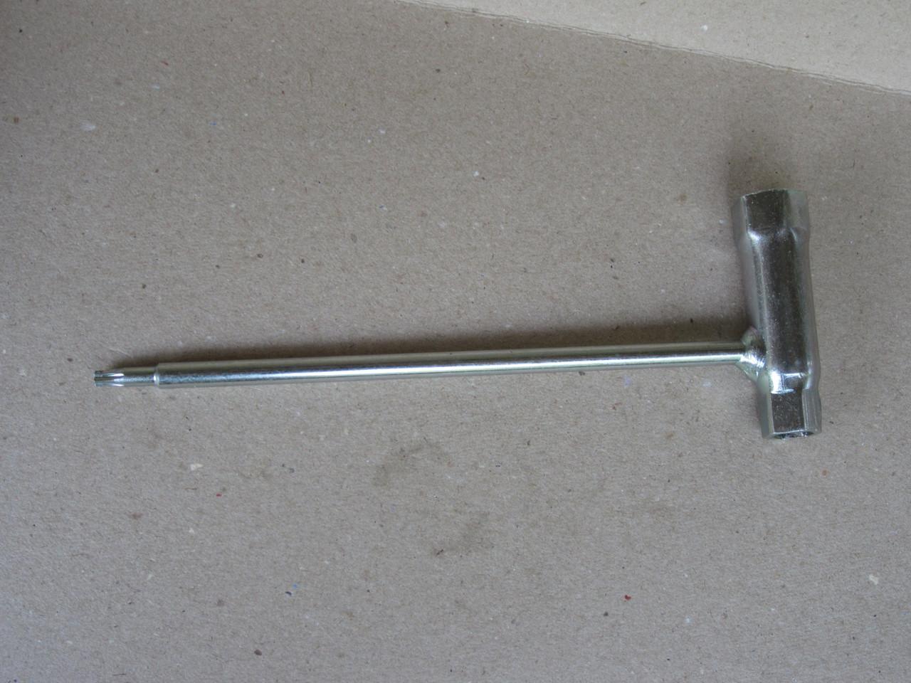 Ключ свечной ST 17*19 мм.  (звездочка) к мотокосе stihl fs 55 ( оригинал )