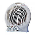 Электрический тепловентилятор Domotec MS-5902, дуйчик для обогрева дома, теплова дуйка с доставкой (GK), фото 2