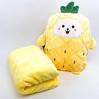 Дитячий плед-подушка Ананас, фото 1