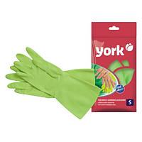 Перчатки резиновые ALOE VERA S York