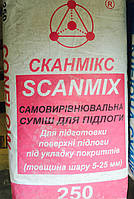 SCANMIX CONFLOW SP 25 кг легко выравнивающая и быстротвердеющая смесь для пола