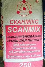 SCANMIX CONFLOW SP 25 кг легко выравнивающая и быстротвердеющая смесь для пола