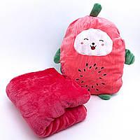 Детский плед-подушка Арбуз, фото 1