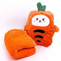 Детский плед-подушка Морковка, фото 1