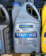 Моторное масло RAVENOL TSI 10W-40 полусинтетика 4л