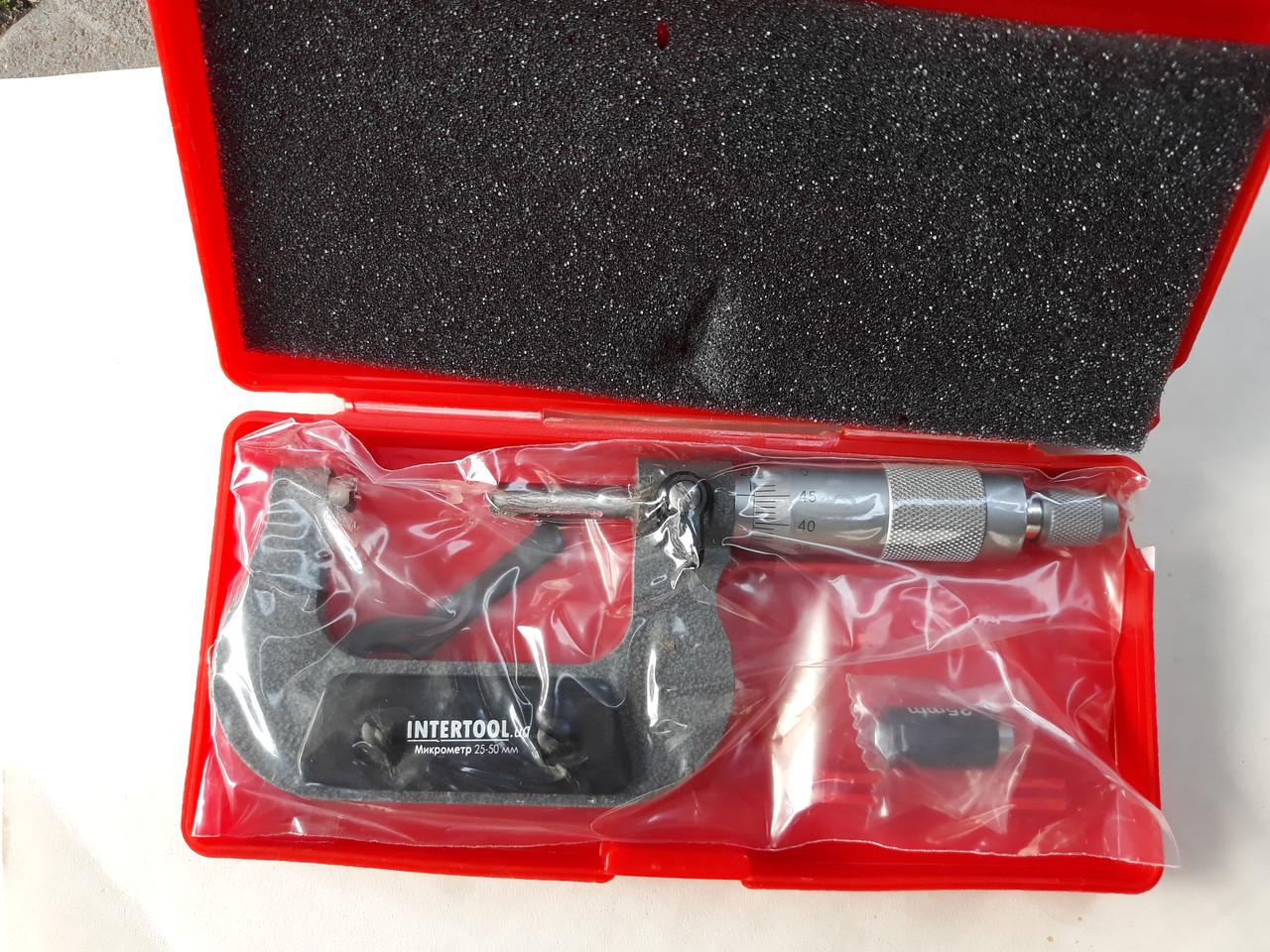 Микрометр 25-50 мм для бензопилы goodluck 4500,5200