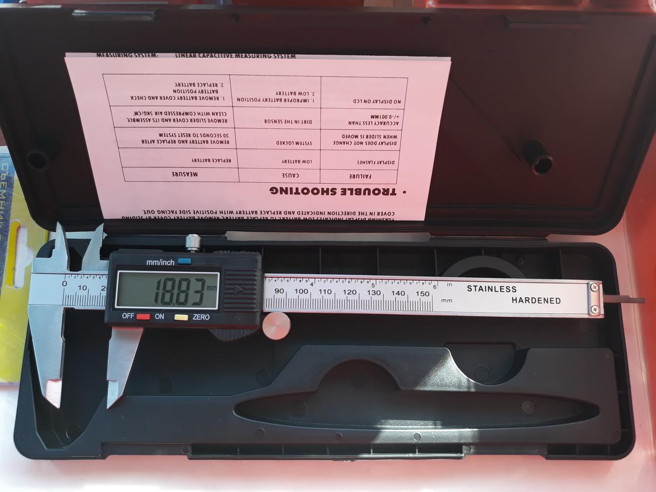 Штангенциркуль электронный для бензопилы husqvarna 445, 450