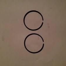 Кольца к-т Ø40Х1.2 SABER для бензопилы STIHL MS 181,MS 211