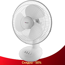 Вентилятор настільний DOMOTEC MS-1625 30 Вт - вентилятор з автоповоротом, 3 режиму, фото 3
