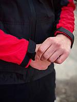 Куртки мужские. Ветровка мужская Intruder SoftShell Lite 'iForce' красная