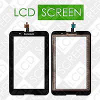 Тачскрин (touch screen, сенсорный экран) для планшета Lenovo IdeaTab A3300 , A7-30, черный